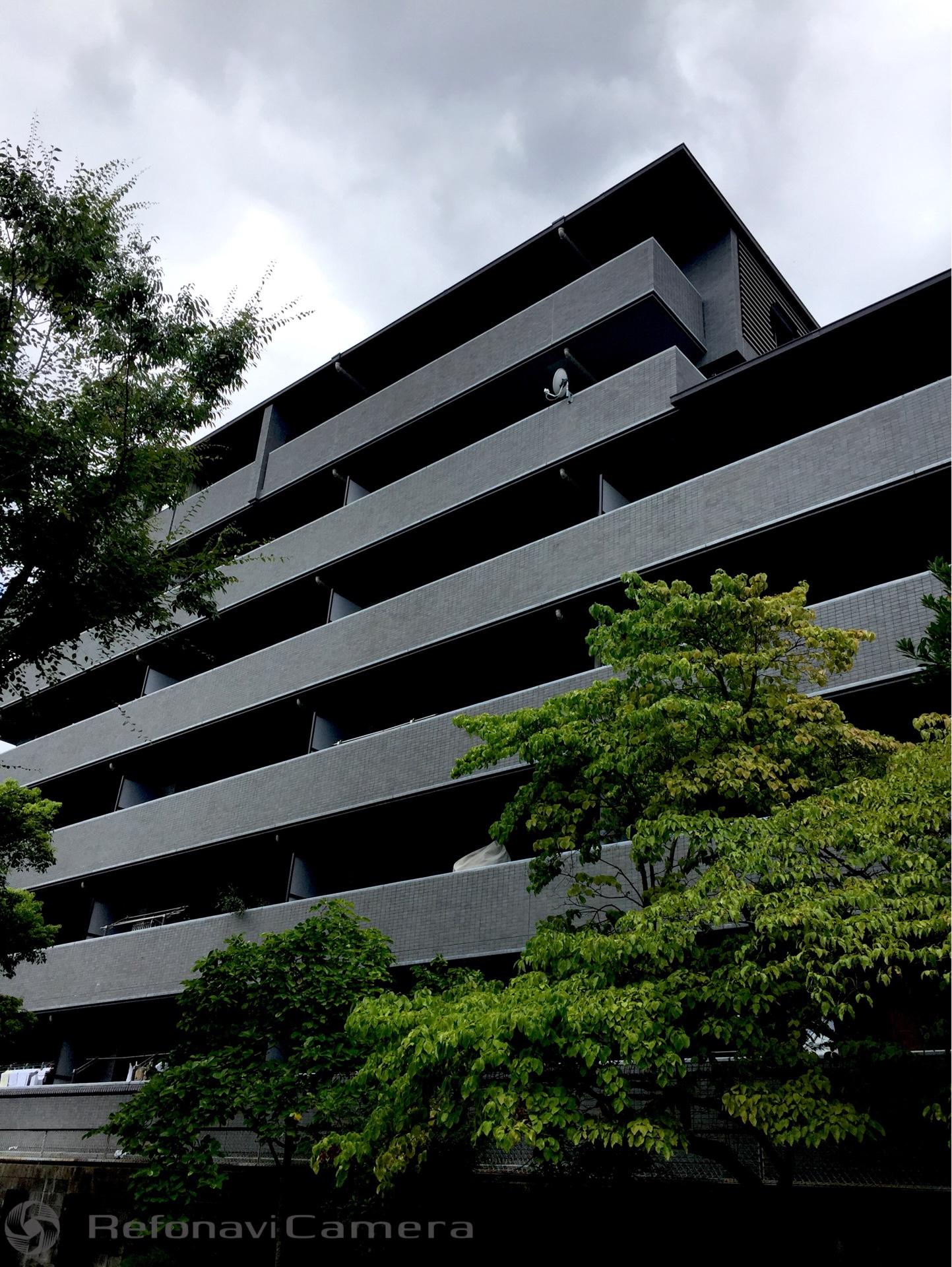 京都市左京区の大規模修繕工事