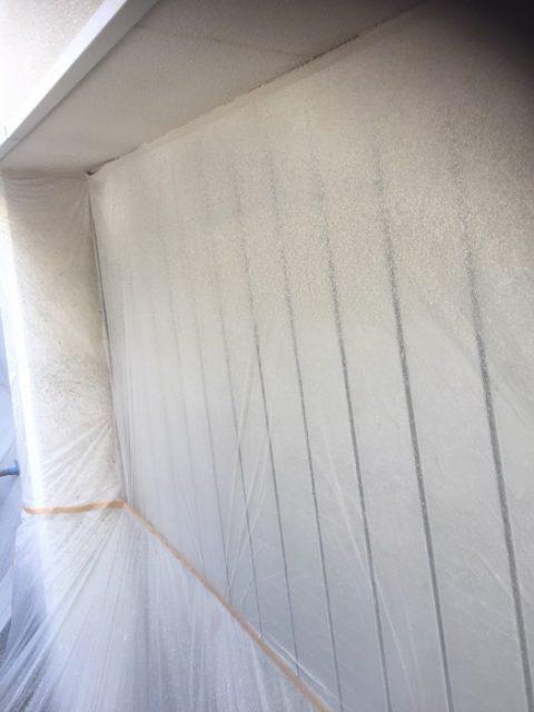 中学校体育館 塗装工事 施工後