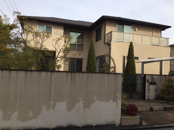 堺市中区 戸建て住宅  外壁塗装工事 防水工事