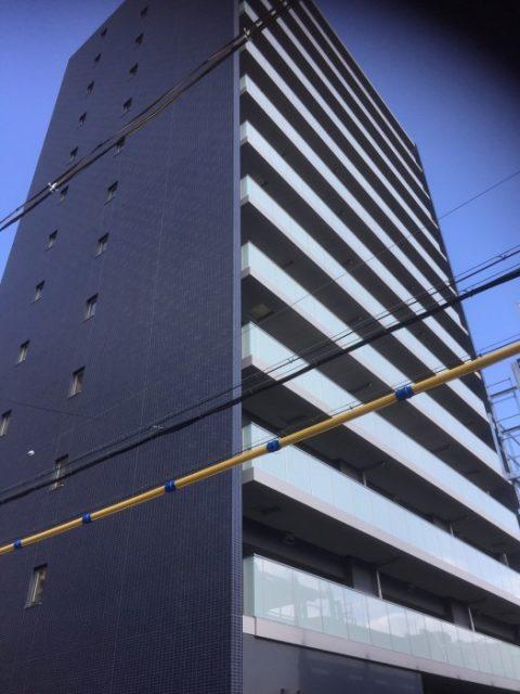 八尾市 新築分譲マンション塗装工事