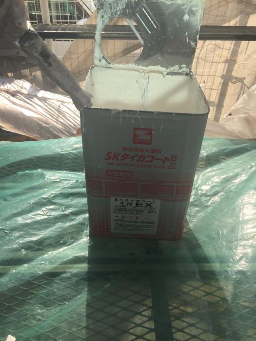堺市中区 耐火塗装工事