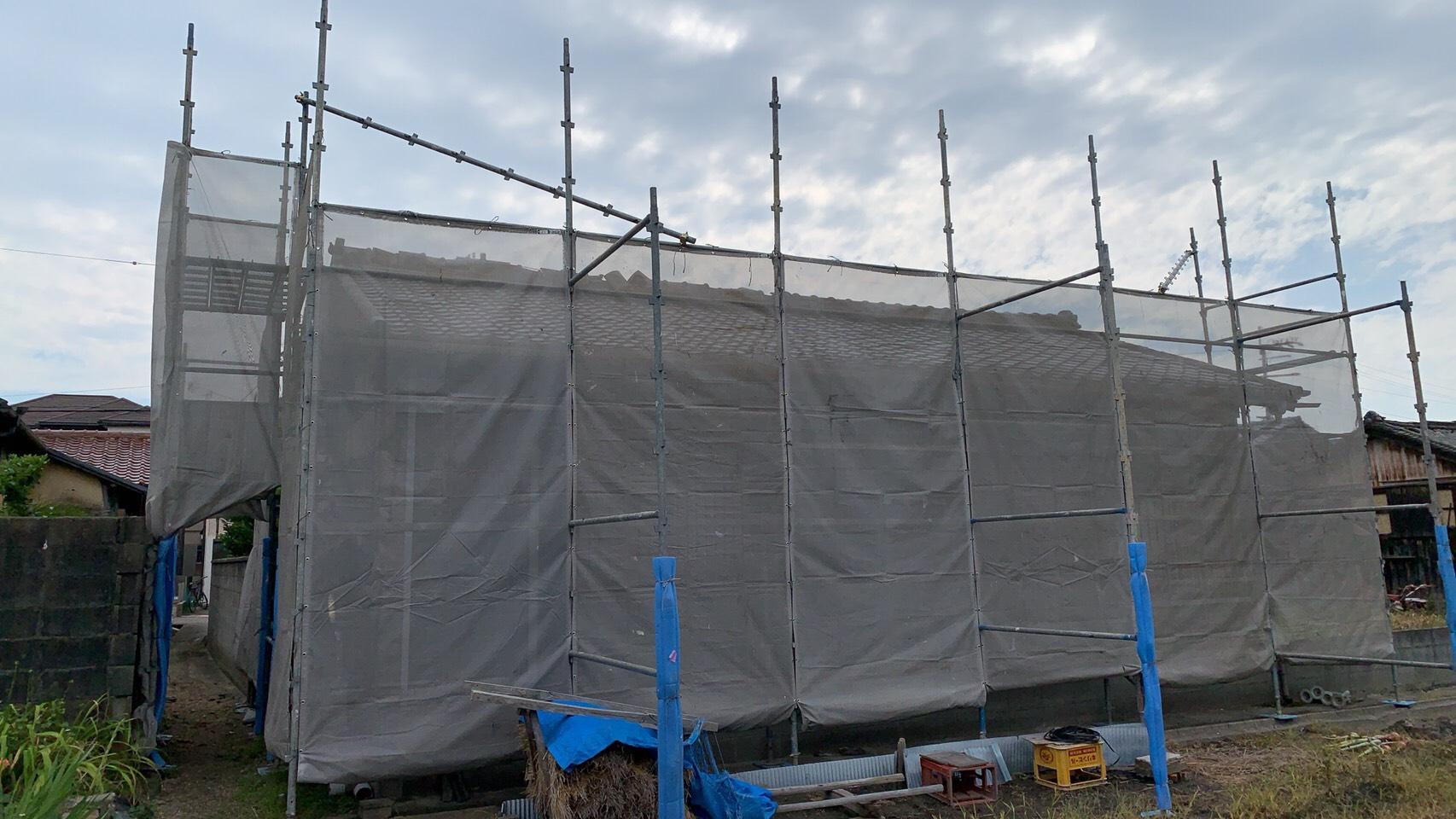 貝塚市 屋根葺き替え工事