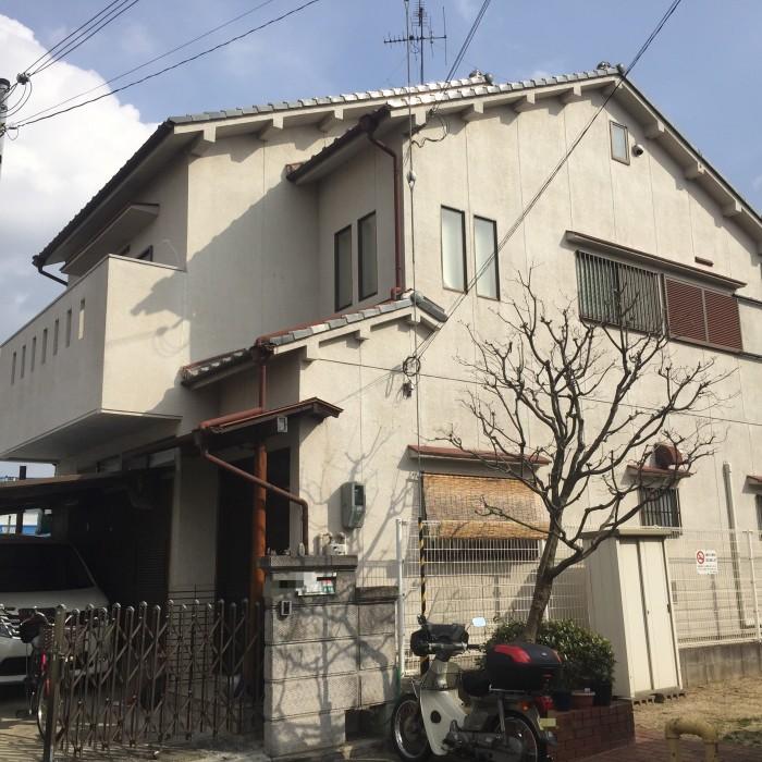 堺市東区 外壁塗装工事