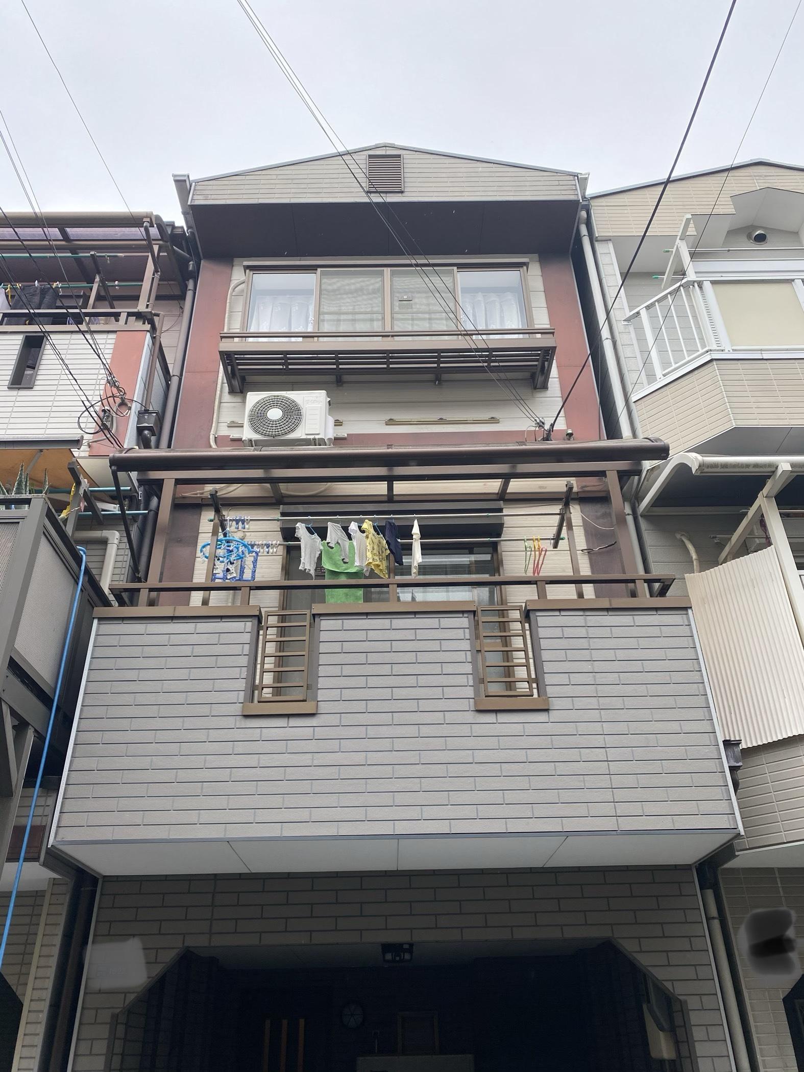 大阪市住吉区 外壁塗装