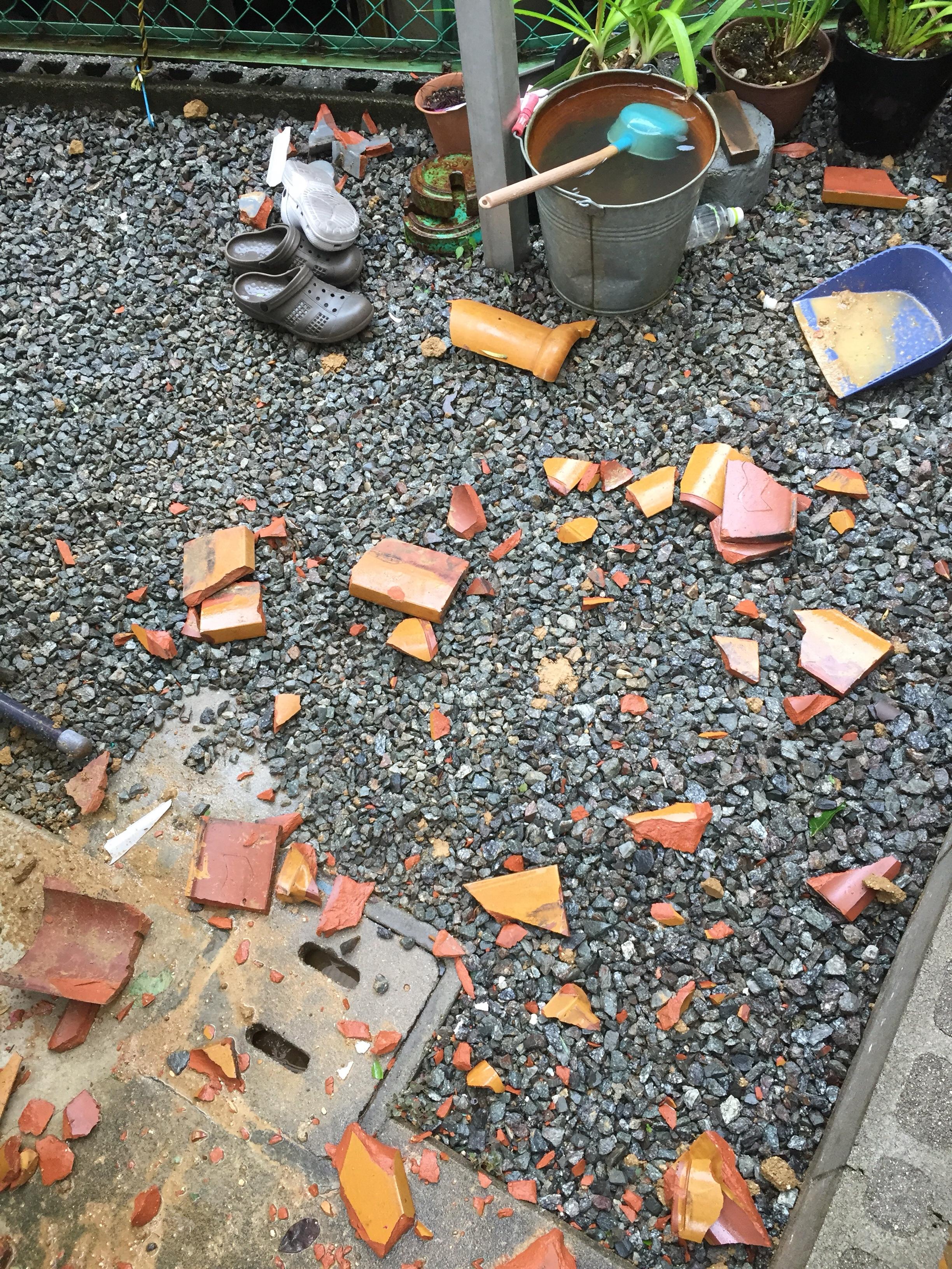 堺市中区 台風災害復旧工事