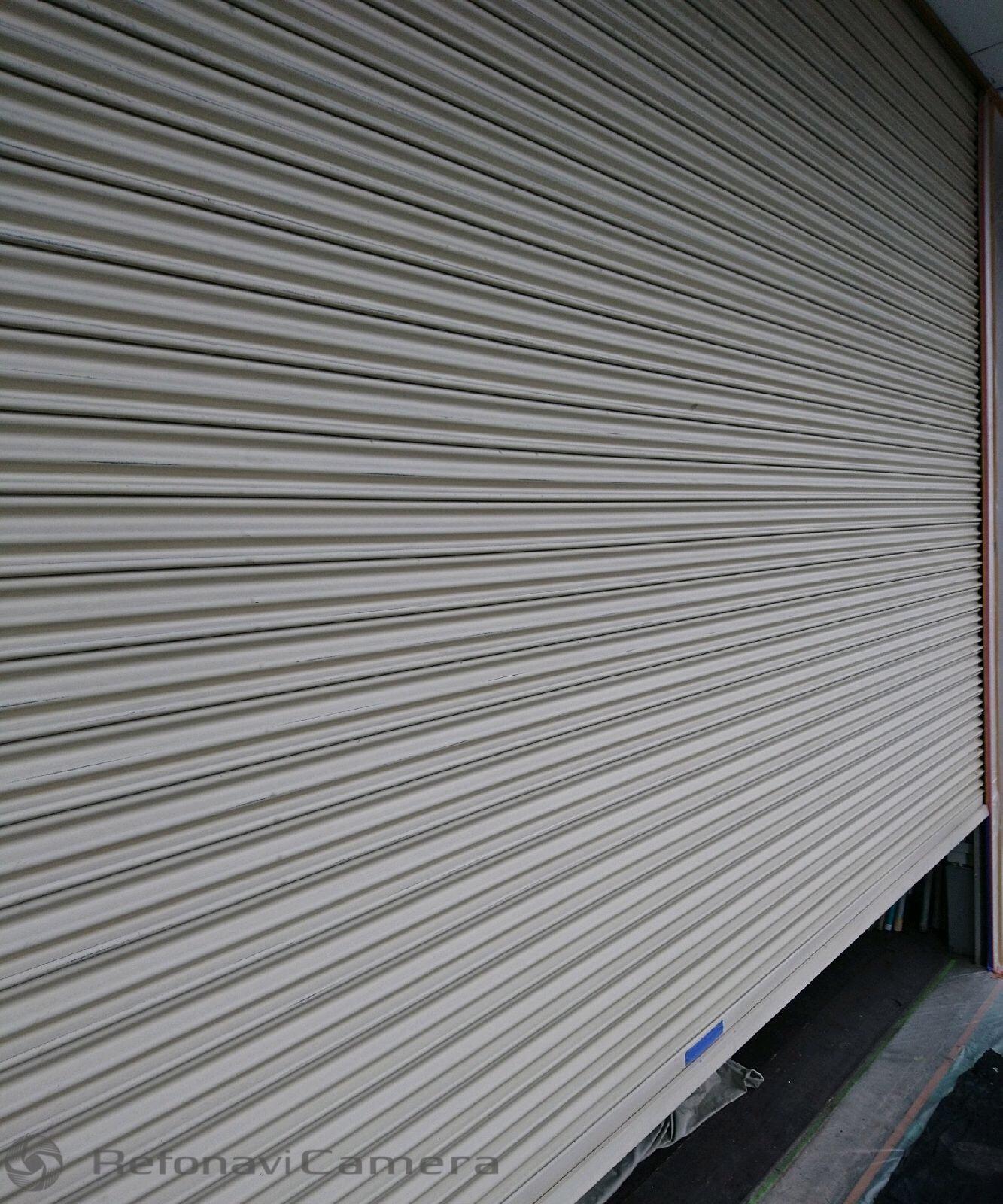 堺市中区 シャッタースラット塗装工事