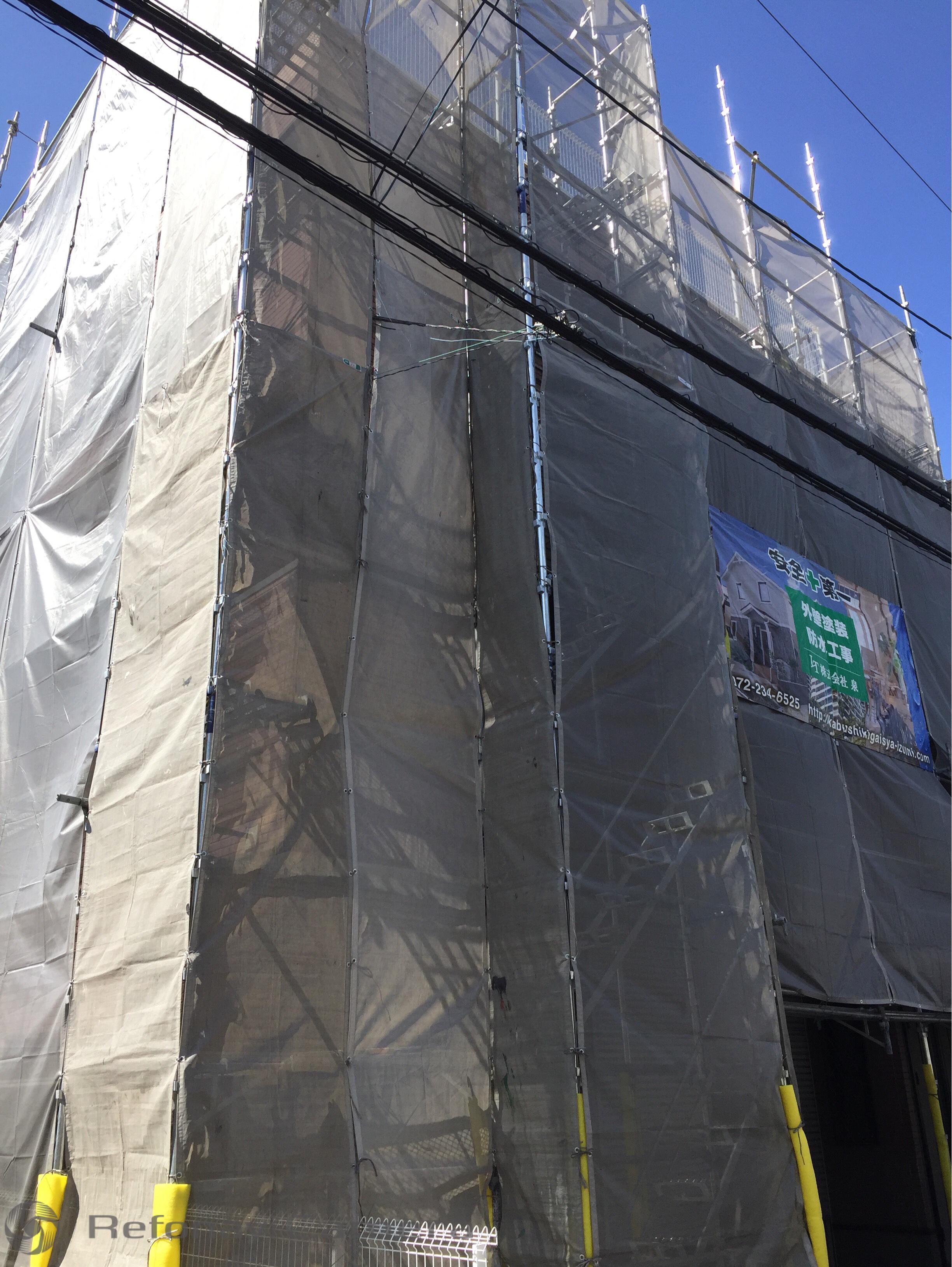 東大阪市 T様邸 外壁塗装