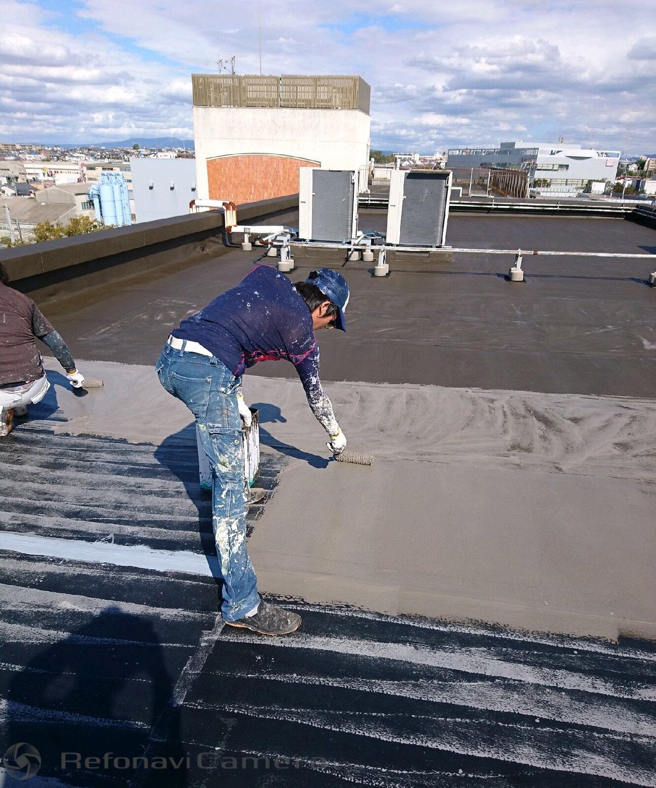 堺市西区 屋上防水工事
