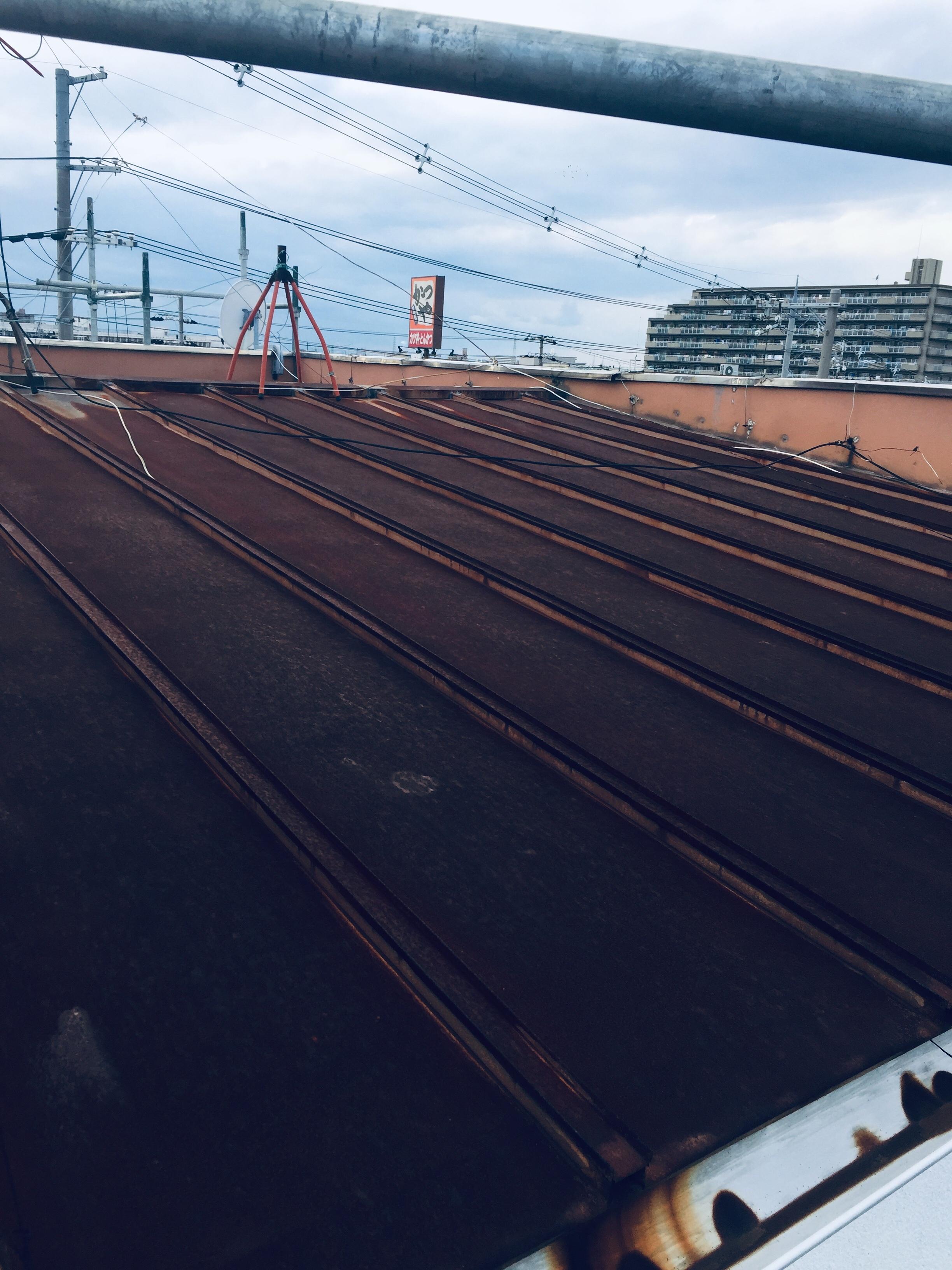 堺市 屋根塗装工事