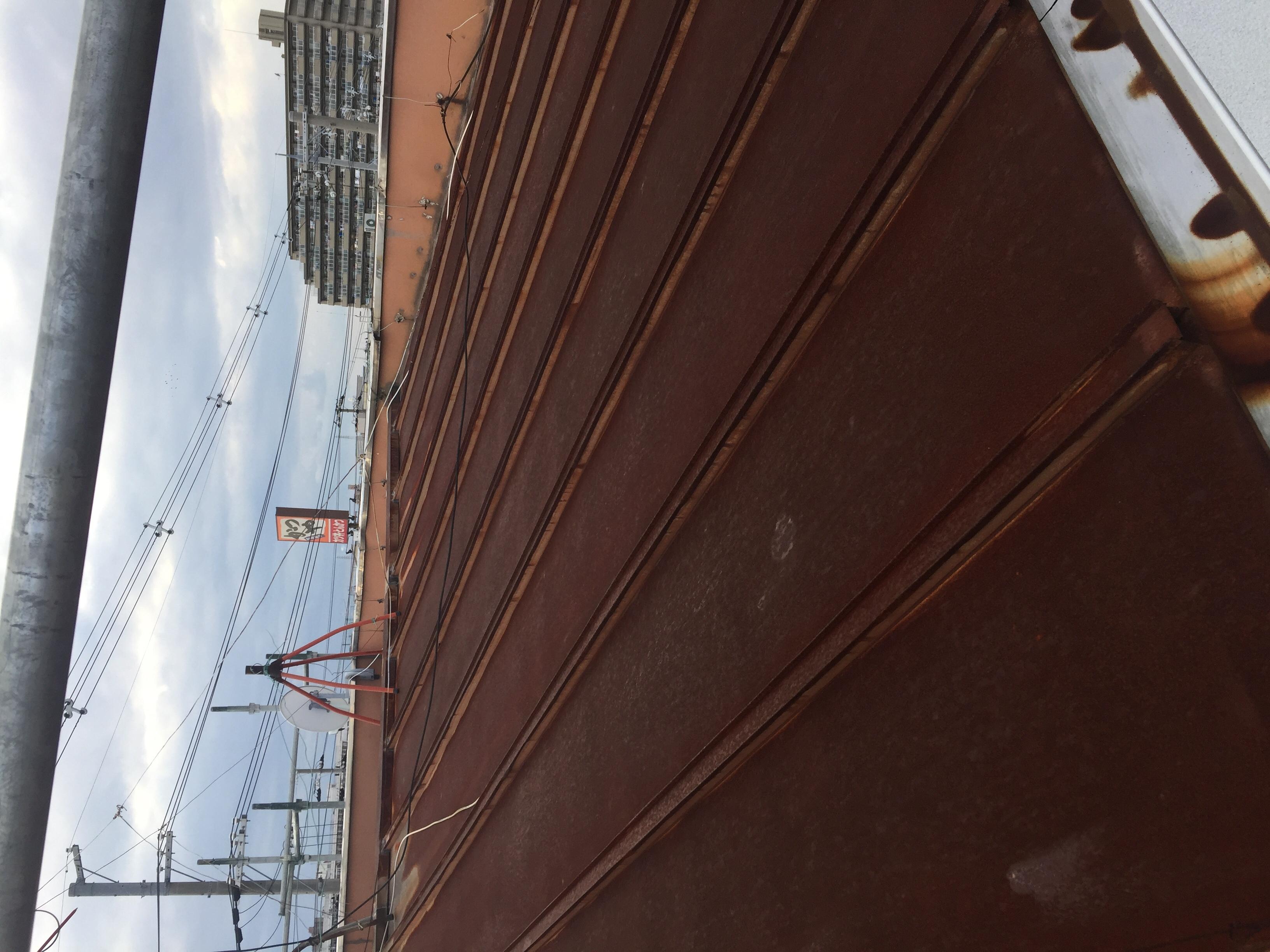 堺市中区 屋根塗装工事