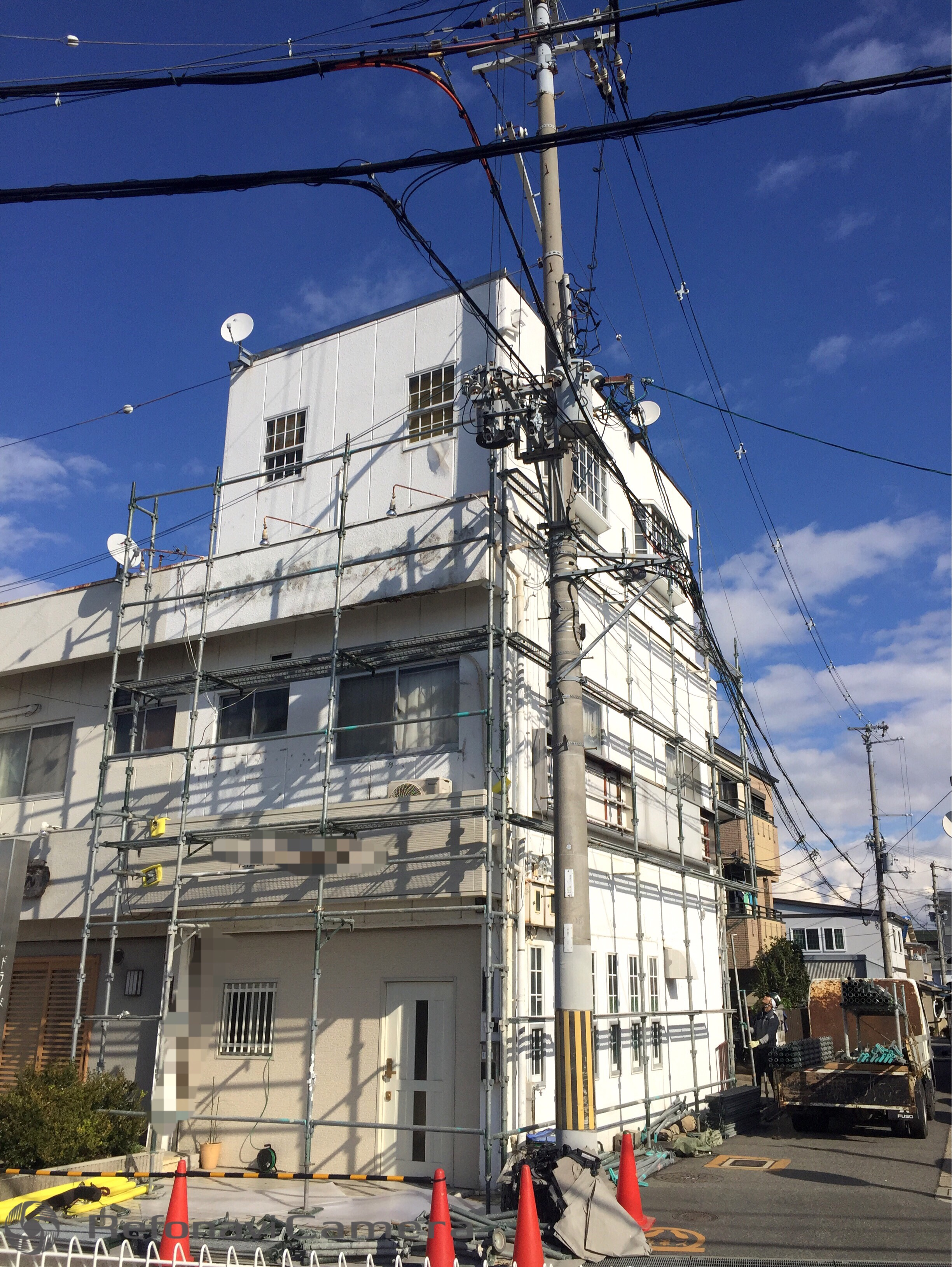 堺市中区 外壁塗装工事 防水工事