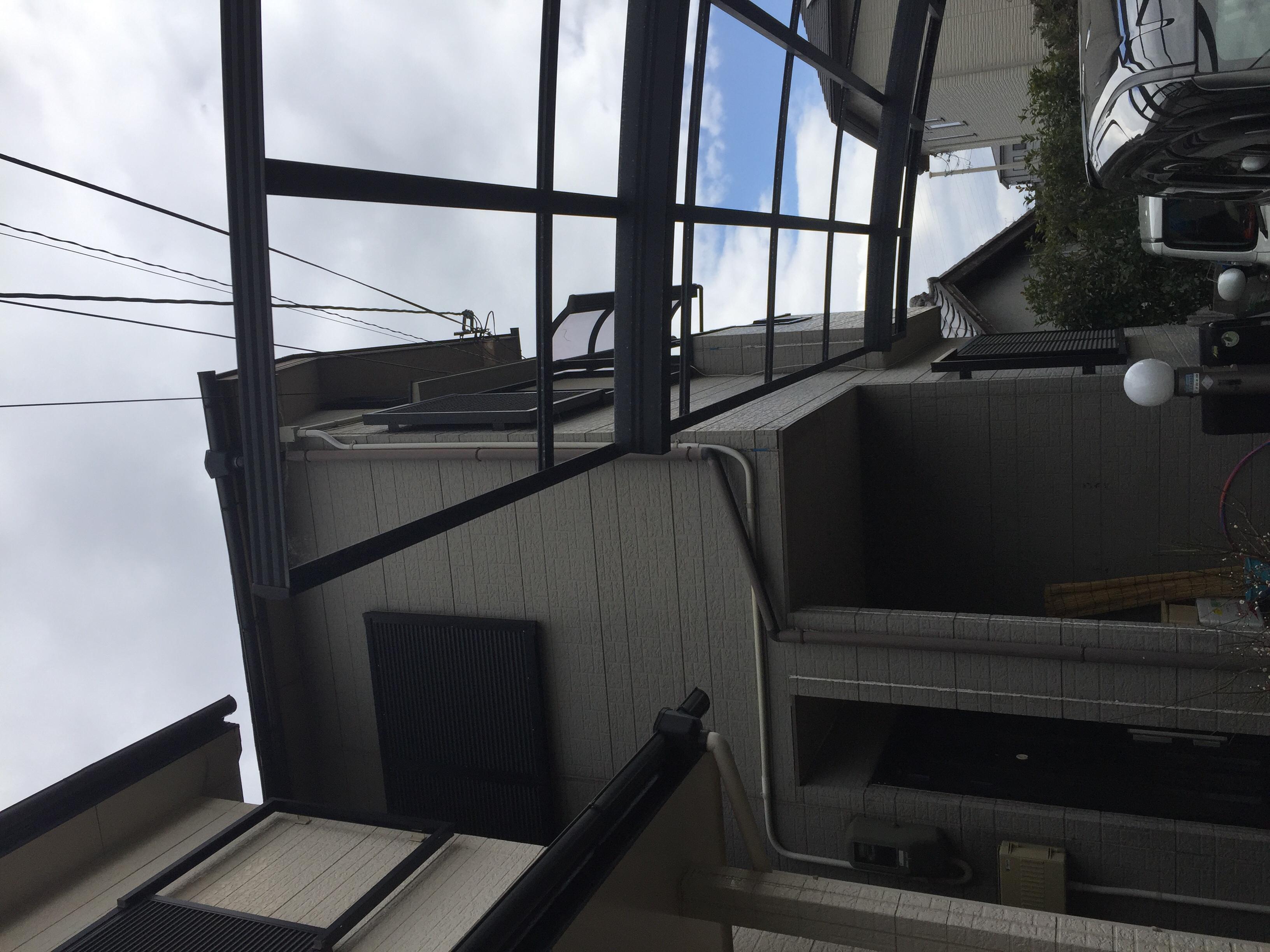 堺市北区 テラス工事