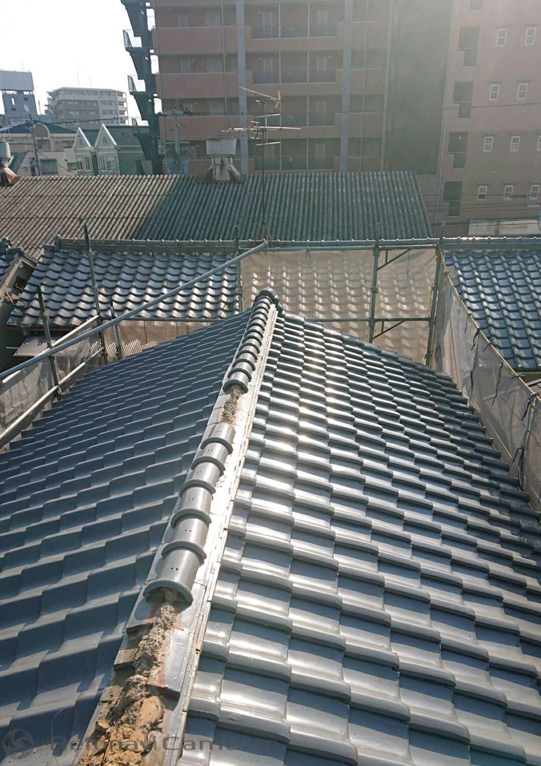 堺市北区 屋根葺き替え工事