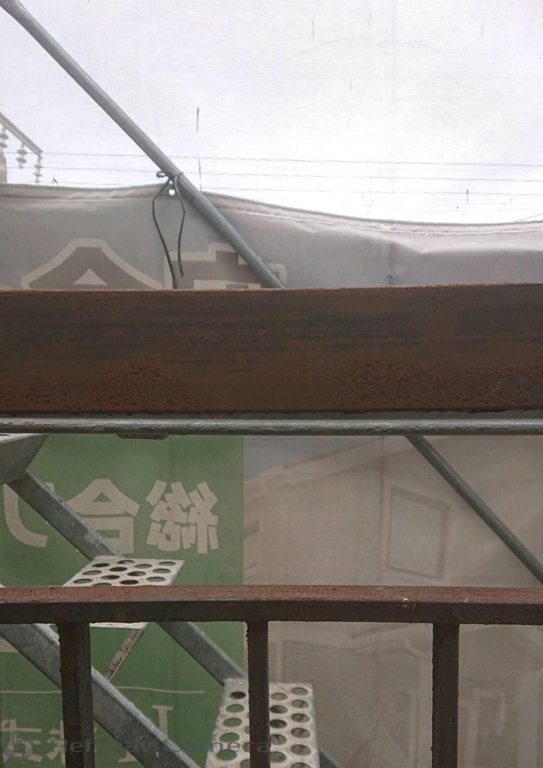 堺市 鉄部塗装