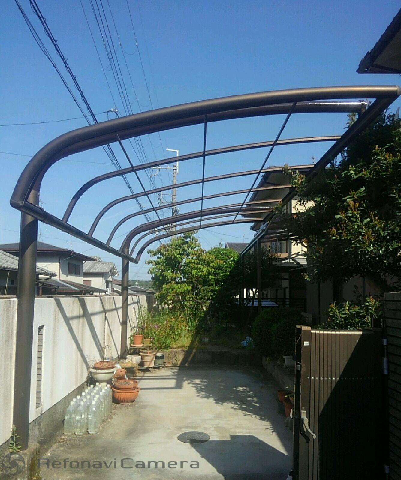 堺市東区 テラス工事