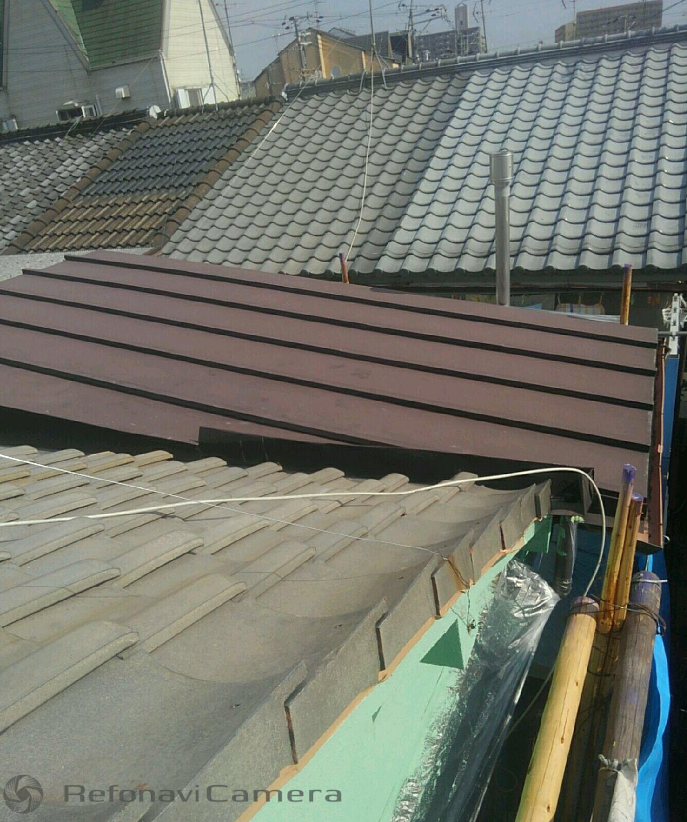 大阪市平野区 屋根工事