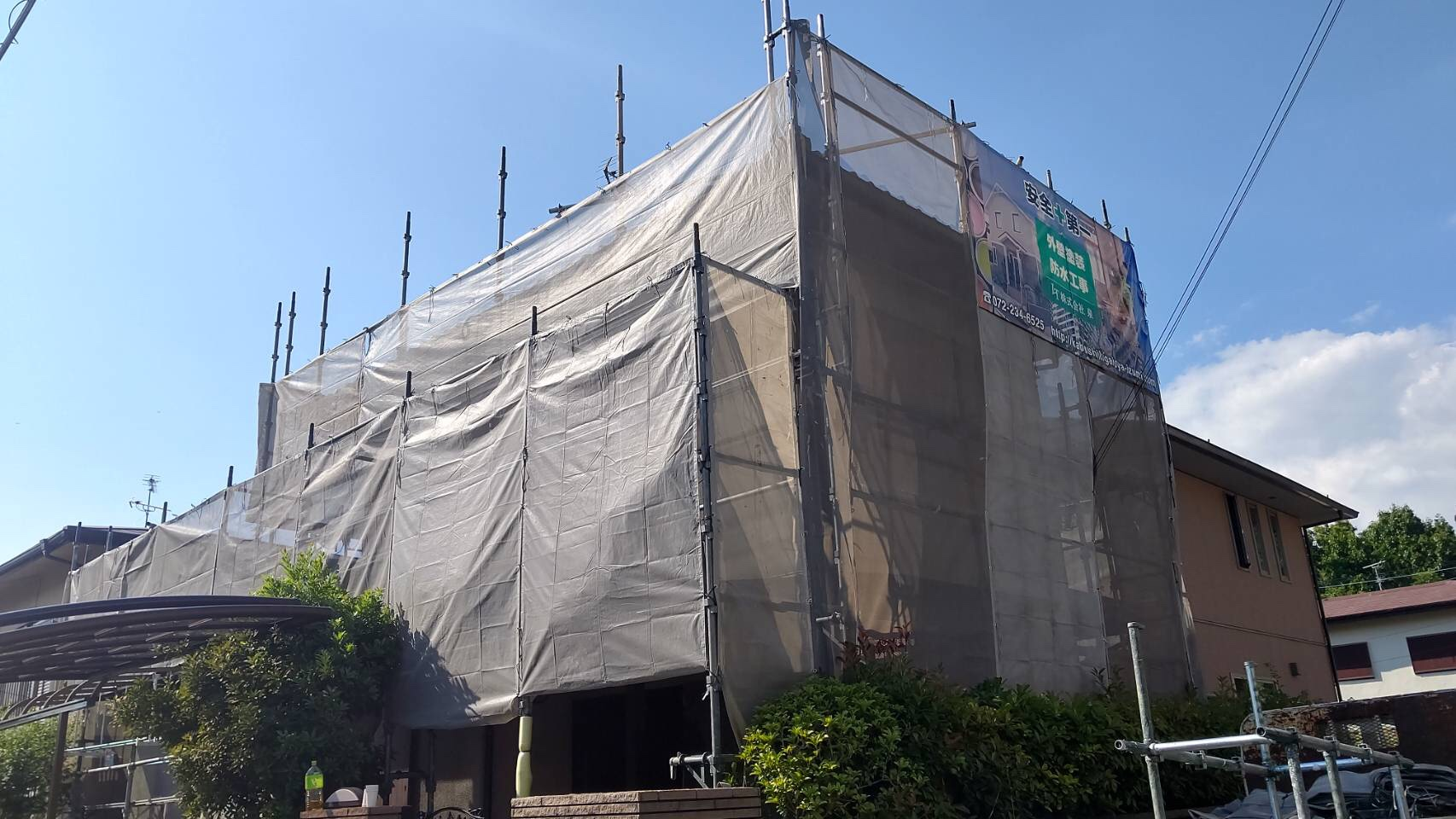 富田林市 外壁塗装