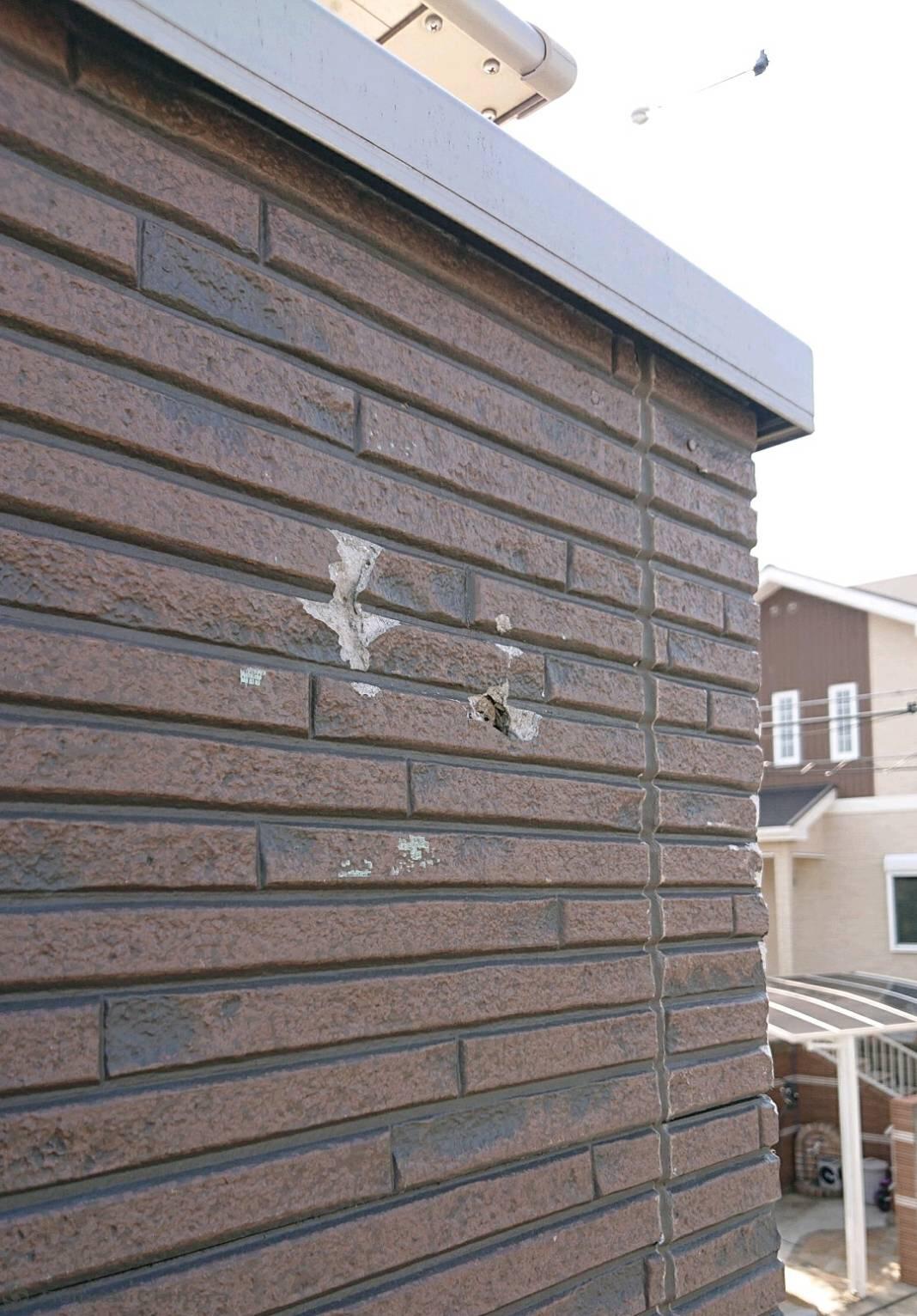 堺市南区 外壁サイディング
