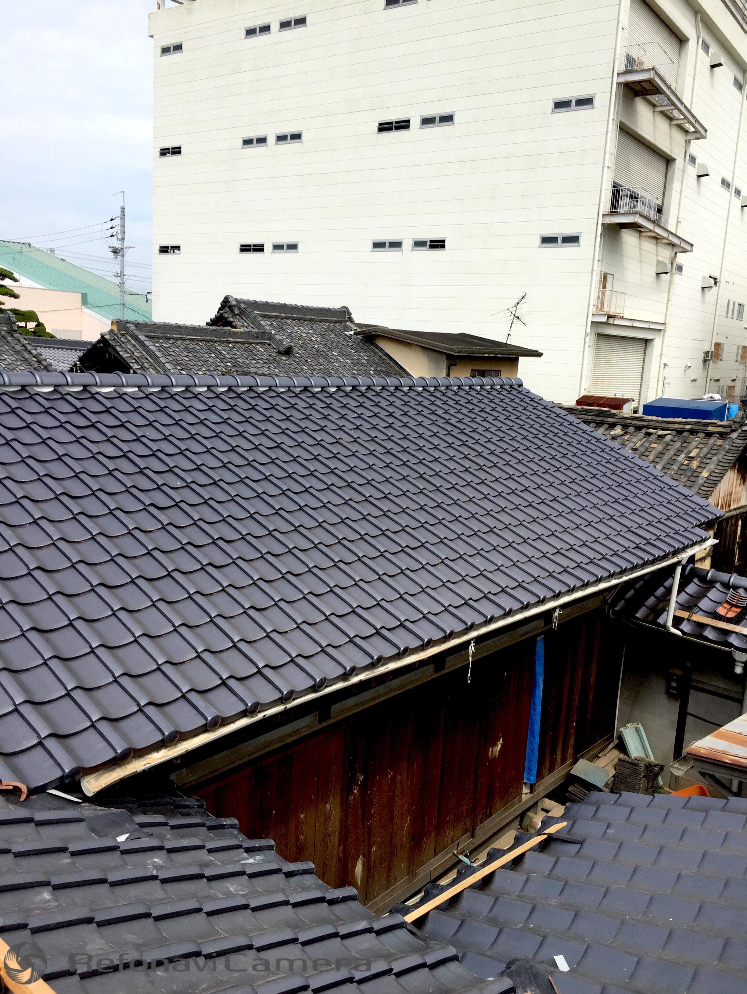 南大阪 屋根葺き替え工事