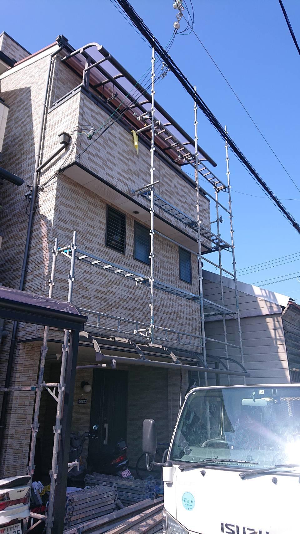 泉大津市 外壁塗装