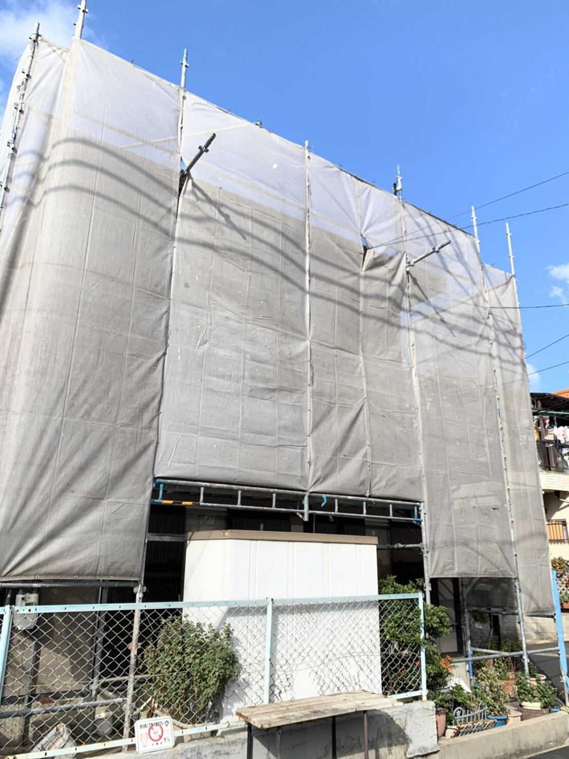 大東市 外壁塗装工事